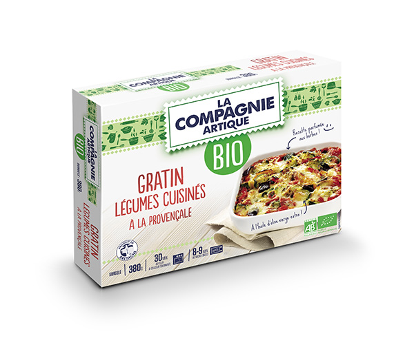Gratin de légumes à la provençale BIO