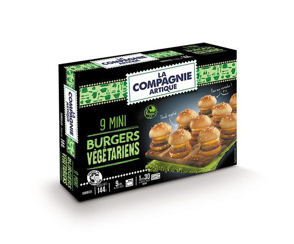 Mini Burgers Végétariens